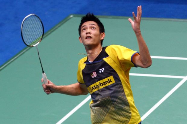 Liew Daren in a file photo. He advanced to the second round of the China Open after beating Denmark Open champ Jan O Jorgensen 21-17, 21-12 in just 33 minutes.