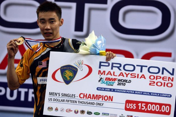 Lee Chong Wei is a Top Earner of 2013
