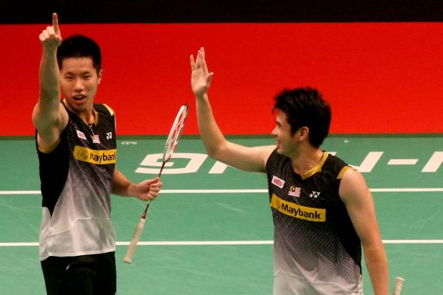 Goh V Shem (left) and Lim Khim Wah will re-united for the second time in January next year after their partnership was broken up two months ago