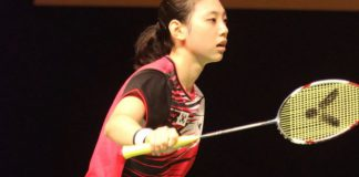 Kim Ji-won (pic) partners Chae Yoo-jung in the women's doubles at the Malaysian Open badminton championships starting on Wednesday.