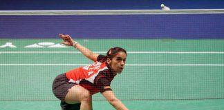 Indian badminton ace Saina Nehwal.
