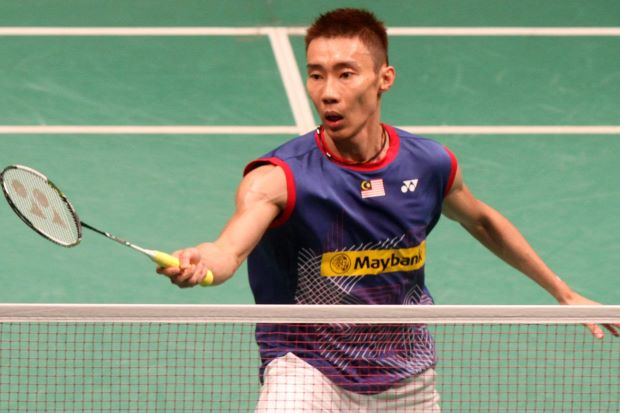 Lee Chong Wei is the last Malaysian man standing in the Maybank Malaysian Open men's singles, after both Chong Wei Feng and Liew Daren bowed out in the first round.