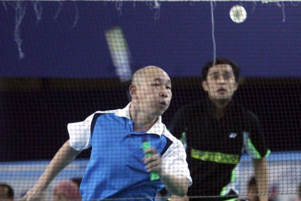 Yap Kim Hock (left). He wants to coach again to find a remedy for the national men's doubles woes.