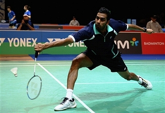 Rajiv Ouseph will be taking part in the English National Championships which will be sponsored by Yonex