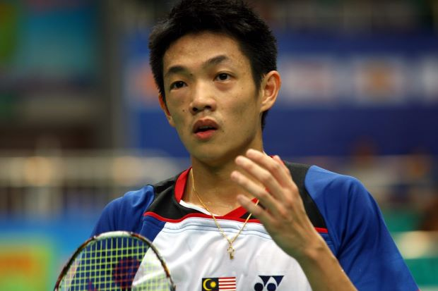 Liew Daren in a file photo. He is the BAM's sole representative for the men's singles at the German Open.