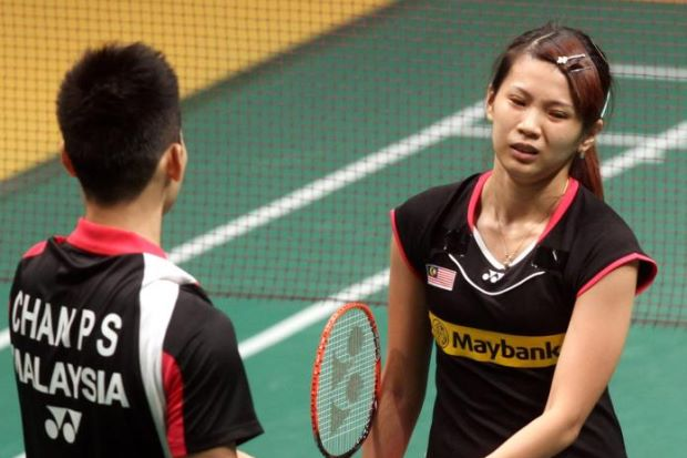 Goh Liu Ying is suffering from a meniscus tear in both her left and right knees.