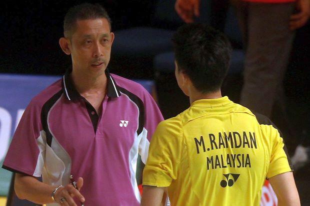 These days Datuk Misbun Sidek spends his time coaching his son Misbun Ramdan, who left BAM last year.
