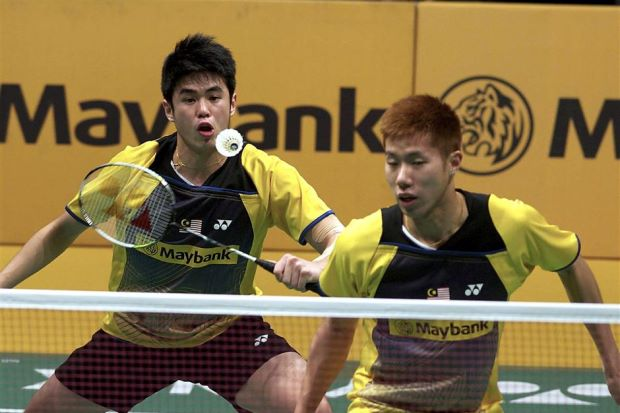 Malaysian Open champions Goh V Shem (right) and Lim Khim Wah still have some ways to go before they can seriously challenge for honours on the international stage.