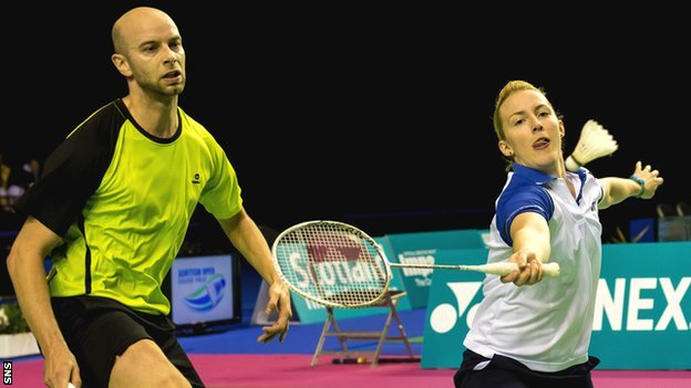 It was the third three-game victory for Blair and Bankier, having beaten Patrick Buhl and Rikke Hansen of Denmark 21-17 19-21 21-15 in the second round and knocking out Dutch third seeds Jorrit De Ruiter and Samantha Barning 18-21 21-12 21-14 in the semi-finals.
