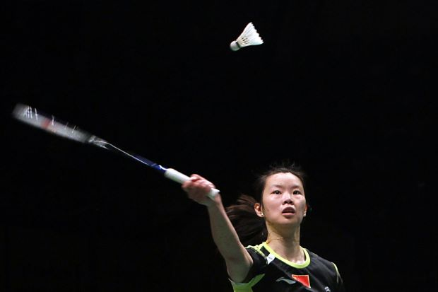 Li Xuerui: 'To come back to the All-England really means a lot to me ... hopefully, I'll go all the way again.'