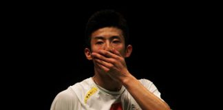 Defending champion Chen Long of China needed three sets to beat Viktor Axelsen in the first round of the All-England badminton championship on Wednesday.