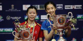 Wang Shixian is on fire since winning All England last month