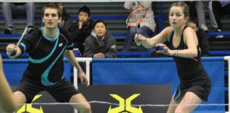 Oliver and Susannah Leydon-Davis are the top mixed doubles from New Zealand