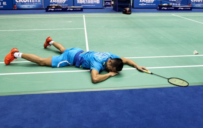 Lin Dan, are you OK?
