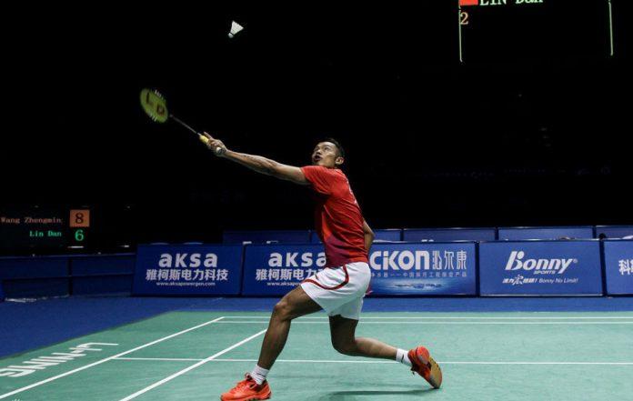 Lin Dan beats Wang Zhengming to reach final