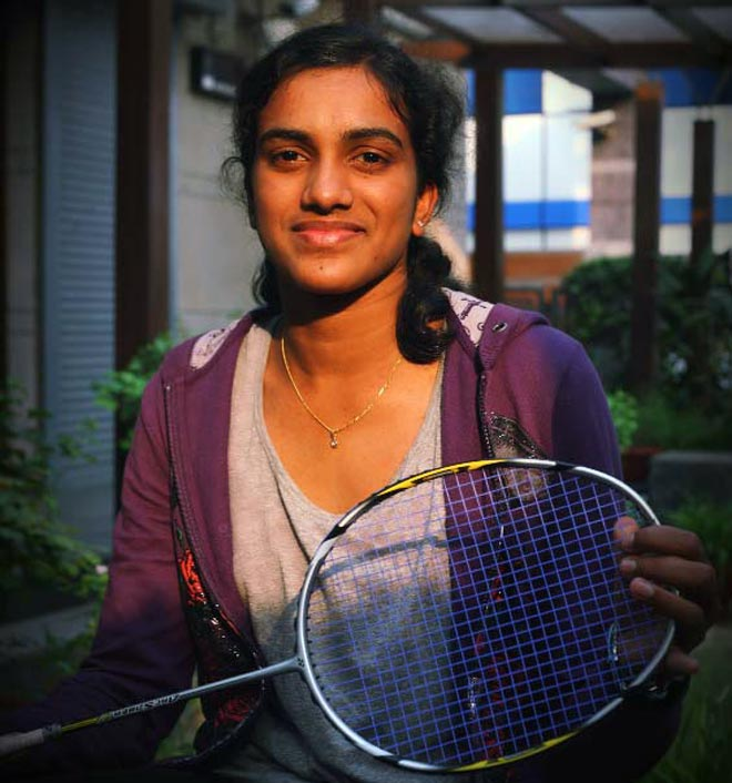 P.V. Sindhu has a bright future ahead of her