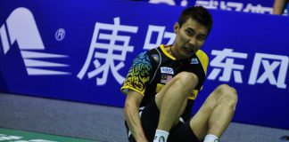 Two years ago, Lee Chong Wei suffered from an early injury at his ankle during the Thomas Cup Group C tie against Denmark at Wuhan, China