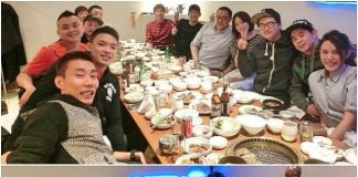 Can you spot Lee Chong Wei and Lee Yong-dae in these pictures?