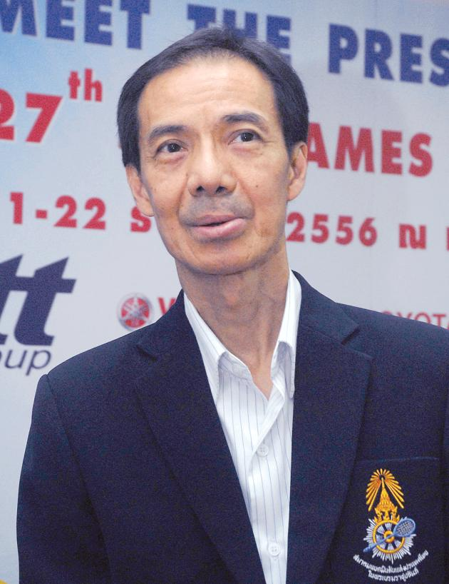 Thailand's national badminton coach Sompol Kookasemkit hopes Thailand could reach last eight in the Thomas Cup and Uber Cup. To be frank, its women's team stood a better chance to reach the second round than the men.