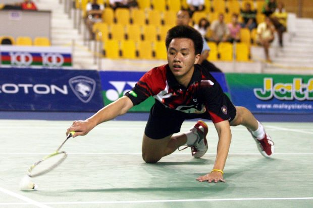 Zulfadli Zulkifli is Malaysia's first World Junior boys' singles Champion
