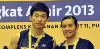Chan Peng Soon and Lai Pei Jing are the reigning Malaysia champions