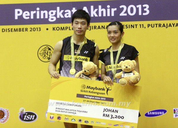 Hope Chan Peng Soon and Lai Pei Jing can develop their chemistry rather quickly.