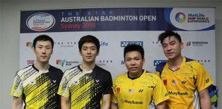Lee Yong-dae-Yoo Yeon-seong and Hoon Thien How-Tan Boon Heong at post game press conference