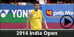 2014 India Open Badminton Videos