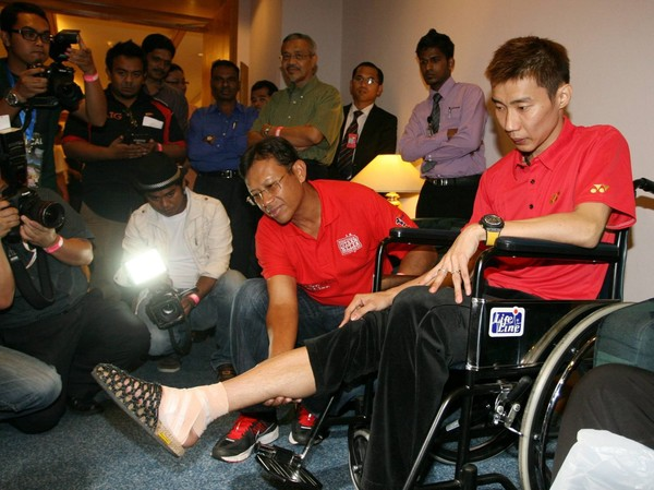 Chong Wei, we would like to wish you a speedy recovery!
