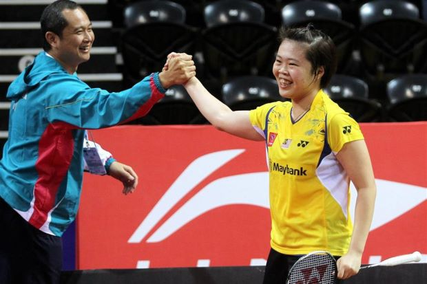 Tee Jing Yi was undefeated in the 2014 Uber Cup Finals