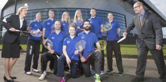 Scotland badminton team