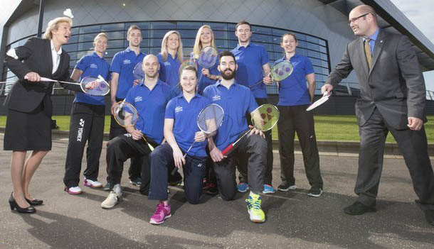 Scotland badminton team