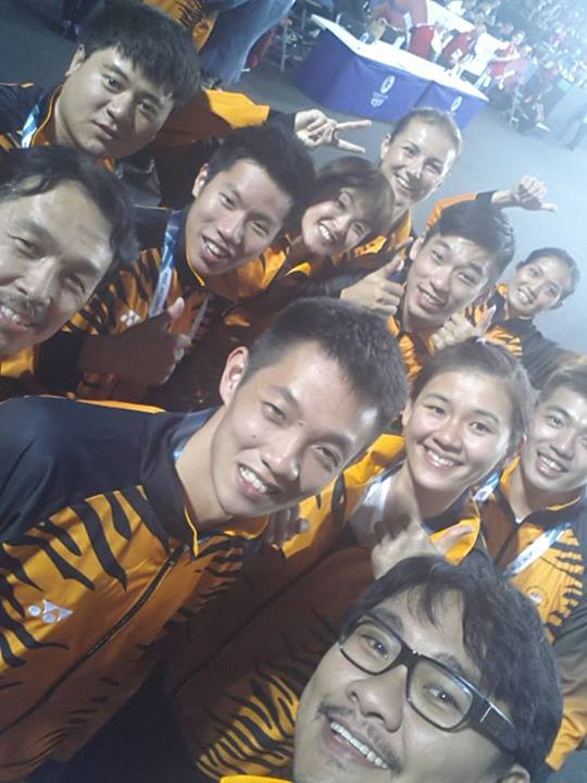 Malaysia win gold in mixed team event at Glasgow Commonwealth Games