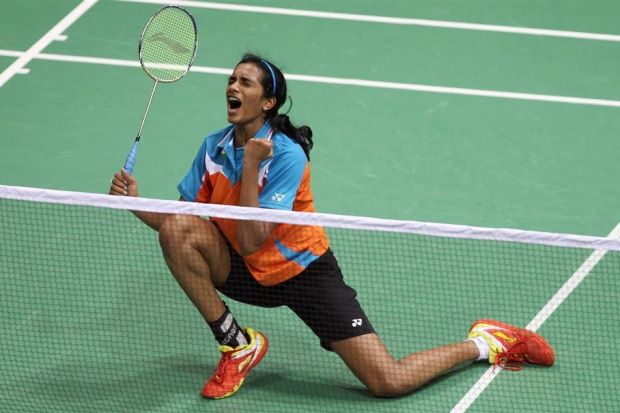 P.V. Sindhu is not bogged down by the weight of expectations and is confident to win the gold medal.