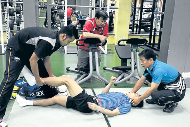 Lee Chong Wei is receiving rehabilitation at NSI