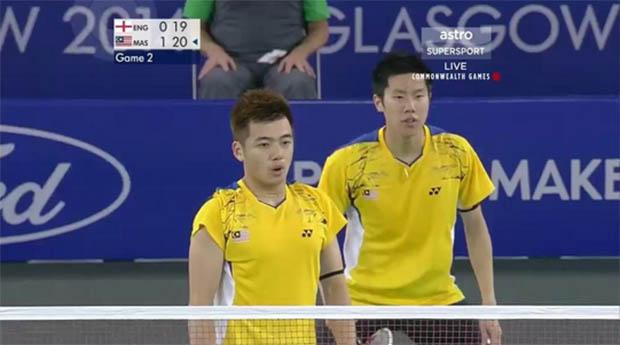 Can Tan Wee Kiong-Goh V Shem (right) bring back the men's doubles gold medal?