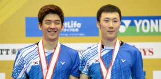Lee Yong-dae and Yoo Yeon-seong are the dynamic duo for Korea men's doubles