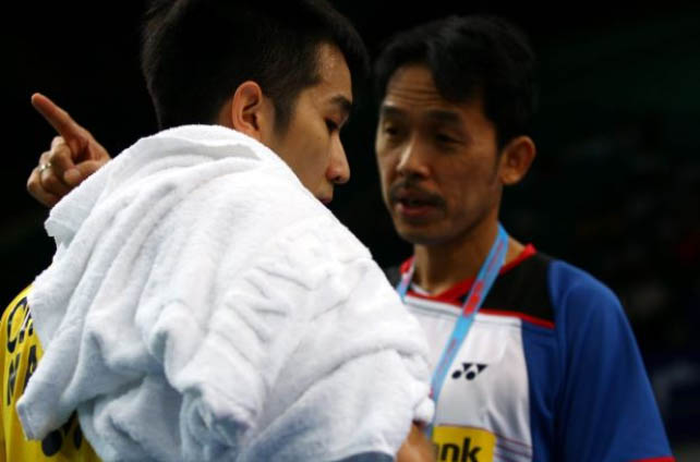 Chong Wei Feng will definitely benefits from Rashid Sidek's experience at the World Championships