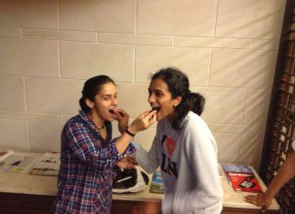 Hope winning World Championships a dream come true for Saina Nehwal (left) and P.V Sindhu