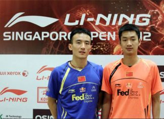 Wang Zhengming (right) misses his big brother - Du Pengyu