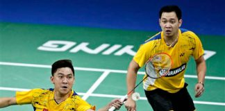 Koo Kien Keat-Tan Boon Ehong plays their last game in Copenhagen