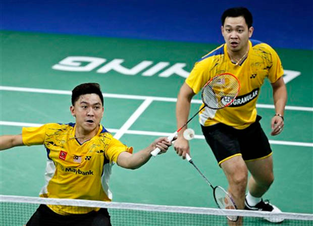 Koo Kien Keat-Tan Boon Ehong plays their last game in Copenhagen
