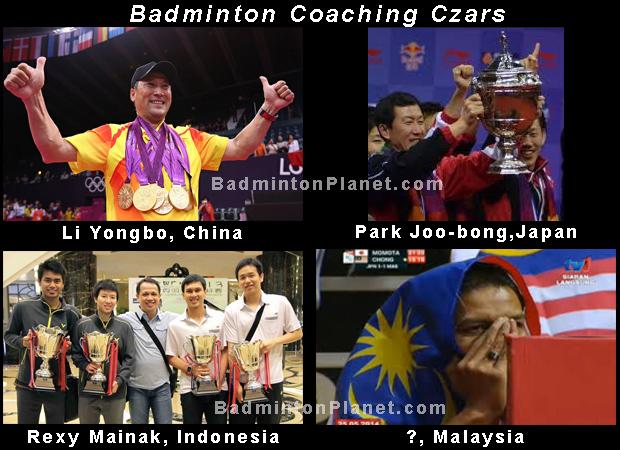 Successful badminton head coaches