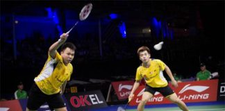 Hoon Thien How-Tan Wee Kiong plays their last game as a pair on Friday