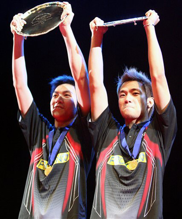Koo Kien Keat-Tan Boon Heong Malaysians won the 2007 All England men's doubles title