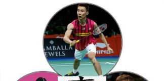 Wish Lee Chong Wei, Li Xuerui and Lee Yong-dae good luck in Incheon