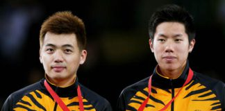 Can Tan Wee Kiong (left), Goh V Shem bring home the Asian Games gold medal?