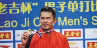 Lin Dan will not play in Malaysia Purple League