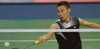 Lee Chong Wei remains his usual calm, collected self despite losing to Chen Long