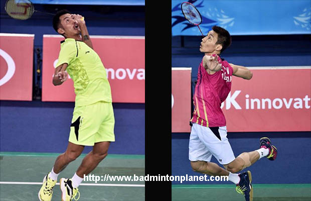 Lin Dan (left) vs Lee Chong Wei is undoubtedly among the fiercest battles ever seen in the history of badminton